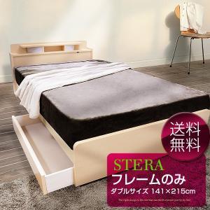 ベッドフレーム ダブル ステラ|furnitureworld