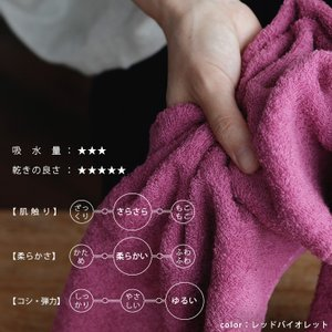 今治タオル「Novy(ノーヴィ)」フェイスタオル【七福タオル 日本製 吸水性 綿100% コットン モダン 薄手 サラふわ ギフト シンプル 実用的 今治ブランド】|furo|04