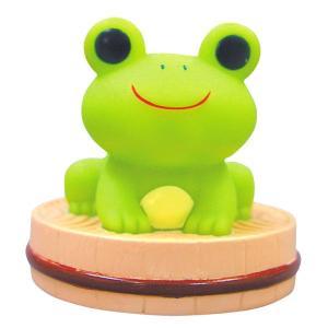 バストイ/光って歌うよ 温泉がえる(みどり)【おもちゃ 光る かえる おしゃべり 浮かべて遊ぶ プレゼント ギフト 子供の日 バスグッズ】 furo