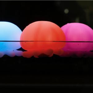 バスライト「RELAXING_BATHLIGHT」Jellyfish(くらげ)【防滴ライト ジェリーフィッシュ お風呂ライト クラゲ 水母 海月 お風呂に浮かべる ぷかぷか 浮かぶ】|furo