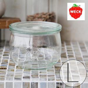 キャニスター「WECK」TuripSHAPE(500ml/L)【保存 密閉 容器 キッチン 収納 キッチン雑貨 おしゃれ かわいい ガラス ドイツ 台所】|furo