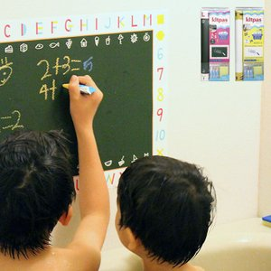 日本製  お風呂クレヨン/おふろdeキットパス・3色+おえかきシートセット(シート・クレヨン3色・ス...