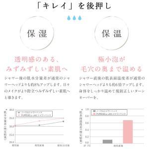 【送料無料】マイクロバブルシャワーヘッド「PUREGE(ピュアージュ)」ウルトラファインバブルシャワーヘッド【マイクロナノバブル 節水50% 節水シャワー】|furo|05