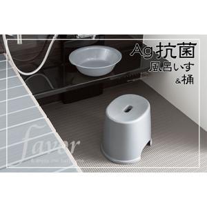 Ag抗菌 風呂いす25 &洗面器セット (フェイヴァ)|furofuta-manzoku