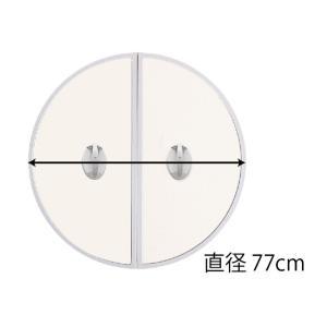 送料無料 東プレ 五右衛門風呂用 丸ふた 丸中 77φ(cm)|furofuta-manzoku