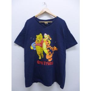 古着 レディース Tシャツ ディズニー DISNEY くまのプーさん ティガー 両面プリント 大きい...