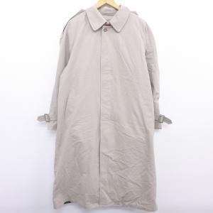 XL/古着 長袖 ステンカラー コート 80s ロンドンフォグ 大きいサイズ ラグラン ロング丈 ベ...