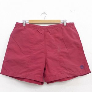 W39/古着 ティンバーランド 水着 スイム ショーツ ショート パンツ メンズ ワンポイントロゴ ...