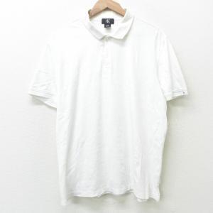 XL/古着 カルバンクライン Calvin Klein 半袖 ブランド ポロ シャツ メンズ コット...