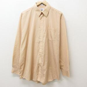 XL/古着 ビバリーヒルズポロクラブ 長袖 シャツ メンズ 90s 大きいサイズ ロング丈 薄オレン...