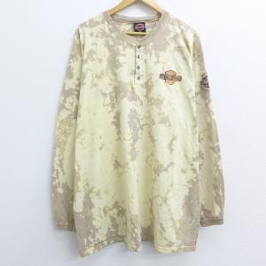 XL/古着 長袖 Tシャツ ハーレーダビッドソン Harle...