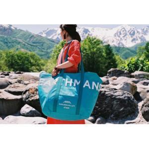 ふるさと納税 HAKUBA VALLEY OTARI オリジナルバッグ(アイスブルー) 長野県小谷村|furunavi