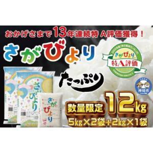 ふるさと納税 11年連続最高評価特A受賞米!令和2年産さがびより10kg (H015107) 佐賀県...