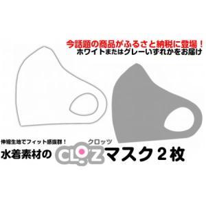 ふるさと納税 フィット感抜群!水着素材のクロッツマスク2枚 (Sサイズ) 大分県国東市|furunavi