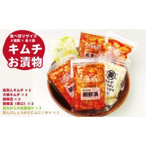 ふるさと納税 A5-053 スタンドパックキムチ&浅漬けセット(6種類×2袋) 佐賀県小城市 furunavi