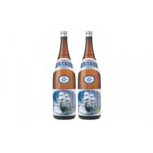 ふるさと納税 OK028本格米焼酎(25度)龍馬の海援隊1800ml×2本 高知県室戸市