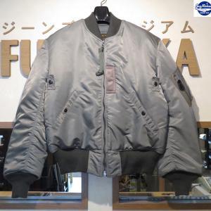 バズリクソンズ/Buzz Rickson's/フライトジャケット/MA-1 LION UNIFOM INC.【BR10981】01番色(セージグリーン)|furutaka