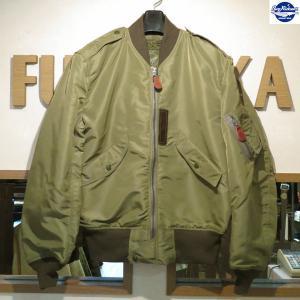 バズリクソンズ/Buzz Rickson's/フライトジャケット/L-2 TOPS AMERICAN PAD & TEXTILE CO.【BR11130】01番色(オリーブ)|furutaka