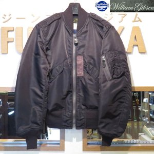 バズリクソンズ/Buzz Rickson's William Gibson Collection/フライトジャケット/BLACK L-2B REGULAR SOLID MODEL NO STENCIL【BR13127】01番色(ブラック)|furutaka