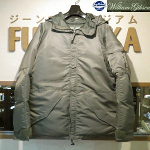 SALE・20%OFF/バズリクソンズ/Buzz Rickson's William Gibson Collection/ECWCS DOWN FILED【BR13929】148番色(セージグリーン)|furutaka