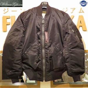 2018年モデル バズリクソンズ MA-1 Buzz Rickson's William Gibson Collection フライトジャケット MA-1 DOWN FILLED【BR14168】119番色(ブラック)|furutaka