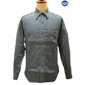 バズリクソンズ Buzz Rickson's ブルーシャンブレー・ワークシャツ【BR25995】125番色(ブルー)|furutaka