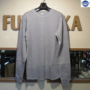 バズリクソンズ Buzz Rickson's 無地長袖サーマルTシャツ【BR63755】113番色(グレー) furutaka