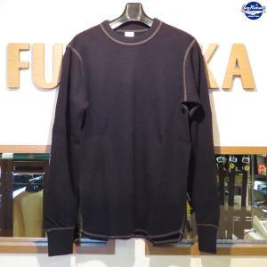 バズリクソンズ Buzz Rickson's 長袖サーマルTシャツ【BR63755】119番色(ブラック)|furutaka