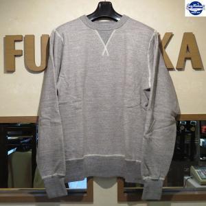 バズリクソンズ 無地スウェット Buzz Rickson's セットインクルースウェット【BR65622】113番色(Hグレー)|furutaka