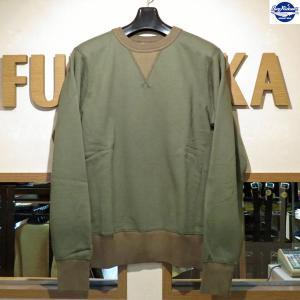 バズリクソンズ 無地スウェット Buzz Rickson's セットインクルースウェット【BR65622】149番色(オリーブ)|furutaka