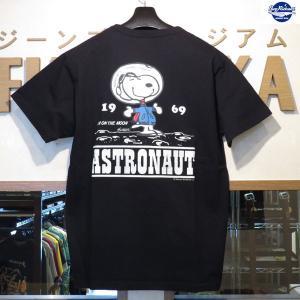 バズリクソンズ スヌーピーTシャツ Buzz Rickson's×PEANUTS 半袖Tシャツ【BR78361】119番色(ブラック) furutaka
