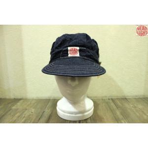 【売切れ】ヘッドライト/HEADLIGHT/11オンスデニム・ワークキャップ【SC02415】421番色(ワンウォッシュ) furutaka