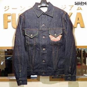 シュガーケーン Sugar Cane ジージャン 14オンス・デニムジャケット1962モデル(サードモデル)【SC11962A】421番色(ワンウォッシュ)|furutaka