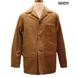 シュガーケーン Sugar Cane 13オンスキャンバス・ハンティングジャケット【SC13994】138番色(ブラウン)|furutaka
