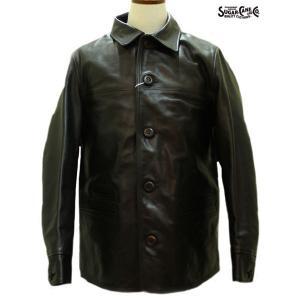 SALE/シュガーケーン/Sugar Cane/革ジャン/ホースハイド・スポーツコート【SC80437】119番色(ブラック)|furutaka