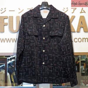 スタイルアイズ Style Eyes NEP PRINT コーデュロイスポーツシャツ【SS27992】119番色(ブラック)|furutaka