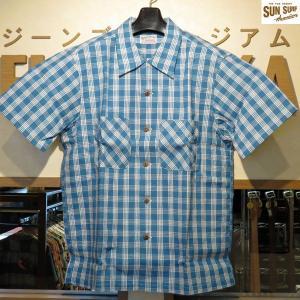 サンサーフ アロハシャツ WATUMULL'S SPECJAL EDTION PALAKA シャツ【SS37588】125番色(ブルー)|furutaka