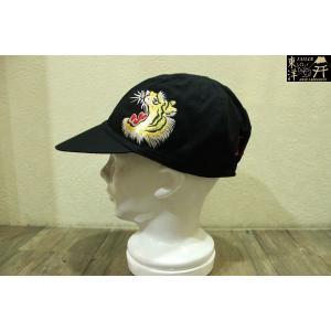 テーラー東洋 JAPAN ヘリンボーンキャップ W/EMBROIDERY【TT02502】119番色(ブラック)|furutaka