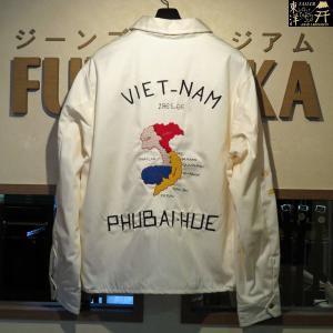 ポイント15倍/テーラー東洋/ベトジャン/コットンベトナムジャケット VETNAM MAP【TT13761】105番色(オフホワイト)/2017|furutaka