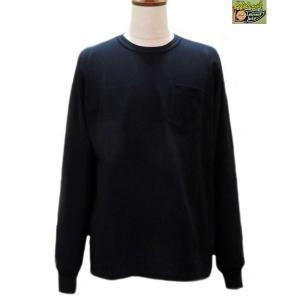 ホワイツビル ロンT Whitesville 長袖ポケットTシャツ【WV67732】119番色(ブラック)|furutaka