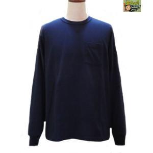 ホワイツビル ロンT Whitesville 長袖ポケットTシャツ【WV67732】128番色(ネイビー)|furutaka