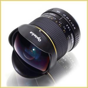 [超広角 魚眼レンズ] 6.5mm F3.5 Opteka OPT65 「Nikon用」 (国内正規品/日本語説明書/5年保証付き) ニコン用 広角レンズ 交換レンズ