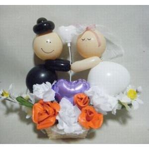 ウエディングのプレゼントに最適「HAPPYな二人」|fusen-bs