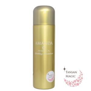アマンダスパークリングモイスチャライザー AMANDAスパークリングモイスチャライザー オールインワン美容液 保湿 毛穴引き締め しわ たるみ 炭酸美容液|fushimidp