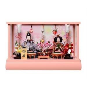 芥子親王つるし雛付ピンクケース:美光作