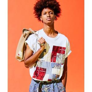 SEVESKIG セヴシグ PANEL T-SHIRT Tシャツ fusion