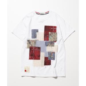 SEVESKIG セヴシグ PANEL T-SHIRT Tシャツ fusion 02