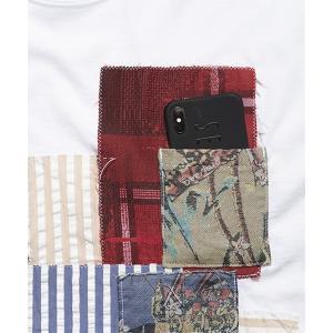 SEVESKIG セヴシグ PANEL T-SHIRT Tシャツ fusion 04