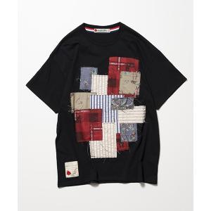 SEVESKIG セヴシグ PANEL T-SHIRT Tシャツ fusion 05