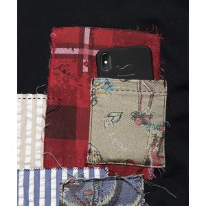 SEVESKIG セヴシグ PANEL T-SHIRT Tシャツ fusion 07